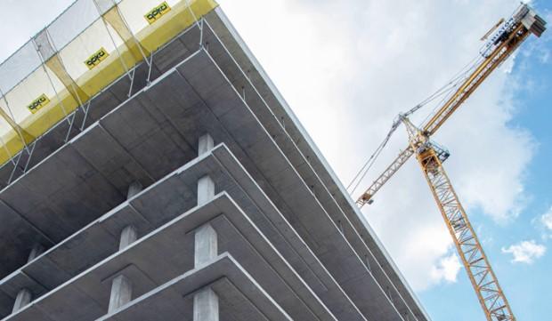 Споживання бетону стрімко зростає, так як будувати стали набагато більше
