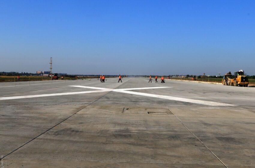 Первая взлетно-посадочная полоса, которая построена за последние десять лет в Украине
